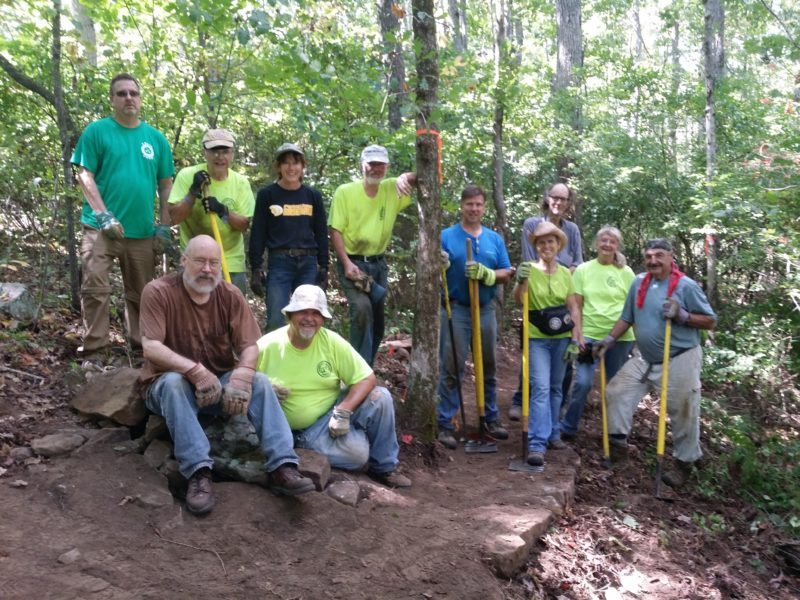 Trail Building 101 September 19 Class Picture