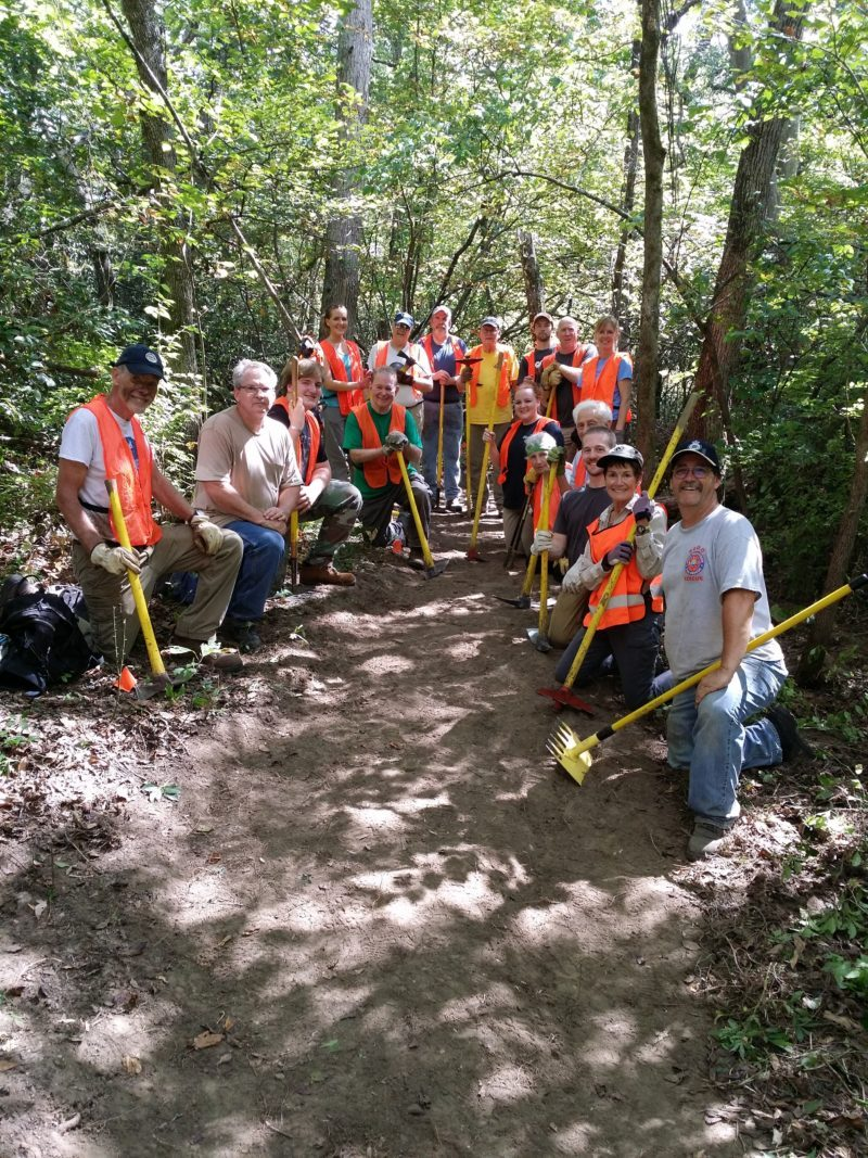 Trail building 101 class of 24 September 2016