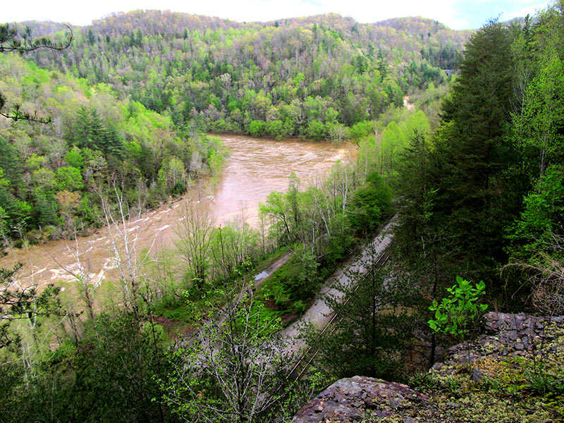 Railroad Tunnel Overlook of Obed River (Hiram Rogers)