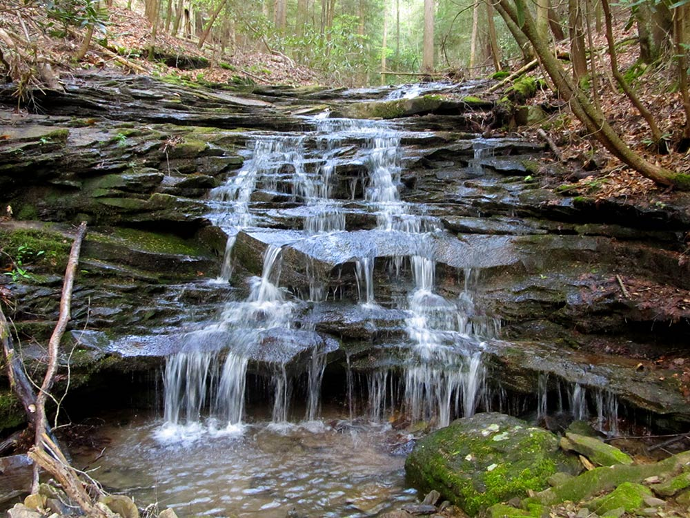 Cascade at Eng of Trail - Hiram Rogers