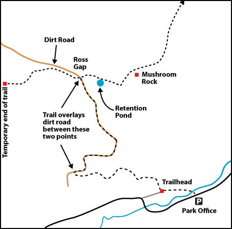 Emory River Gorge (map by Don Deakins)