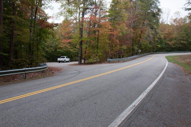 Lower Leggett Road Trailhead Parking (Don Deakins)