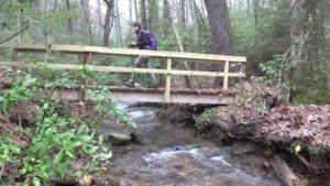 Bridge at DeLozier Branch added 2016 (Hupp)