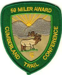 CTC 50 Mile Patch