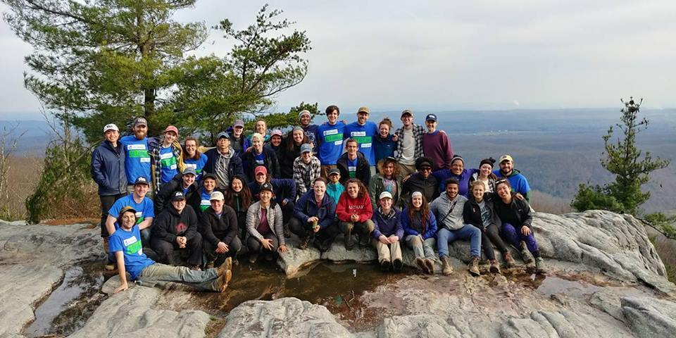Pitt, Boston and MSU at Black Mountain, Week 1, ASB 2018. (Wilson)