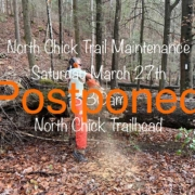 North Chickamauga Trail Maintenance POSTPONED